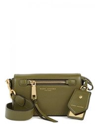 Marc Jacobs - Recruit Olive Leather Cross-body Bag - Lyst