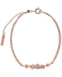 Olivia Burton - Rainbow Bee Rose Gold-plated Bracelet - Lyst