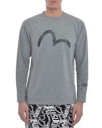 Evisu - Seagull Long Sleeve T Shirt - Lyst