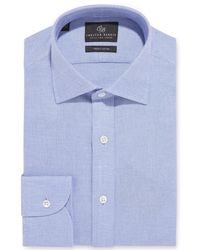 Chester Barrie - Blue Soft Leno Shirt - Lyst