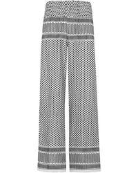 Cecilie Copenhagen   Monochrome Wide-leg Trousers   Lyst