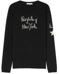 Bella Freud - Fairytale Black Wool Jumper - Lyst