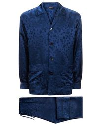 Meng - Silk Jacquard Pyjama Set - Lyst