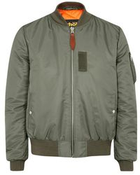 e8ddcbad59c Moncler Aidan Quilted Shell Bomber Jacket - Size 5 in Green for Men ...