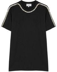 Collina Strada - Sporty Spice Black Cotton T-shirt - Lyst