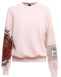Mr & Mrs Italy - Embroidery Jumper Ws Fleece - Lyst