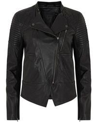 Francis Leon - The Avenger Black Leather Jacket - Lyst