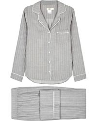 UGG - Ravel Grey Striped Pyjama Set - Lyst