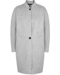 Rag & Bone - Darwen Reversible Wool Blend Coat - Lyst