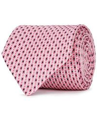 Eton of Sweden - Geometric-jacquard Silk Tie - Lyst