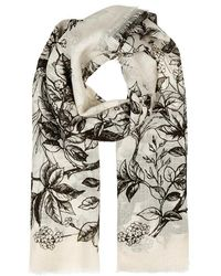 Givenchy - Monkey-print Wool Scarf - Lyst