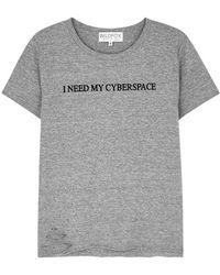 Wildfox - Cyberspace Stellar Jersey T-shirt - Lyst