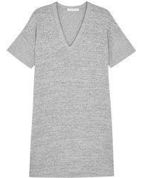 Rag & Bone - Rosalind Grey Stretch-knit Dress - Lyst