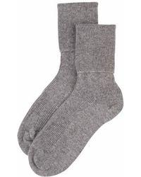 Johnstons - Cashmere Ladies Socks - Lyst