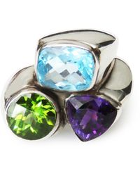 Isabel Englebert Lucky Three Stone Ring - Multicolour