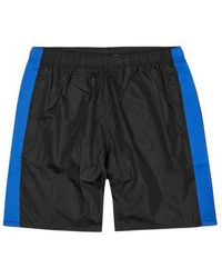 Our Legacy - Black Striped Swim Shorts - Lyst