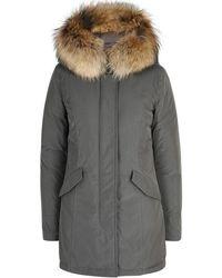 Woolrich | Luxury Arctic Fur-trimmed Shell Parka | Lyst