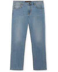 Hackett - Light-wash Jeans - Lyst