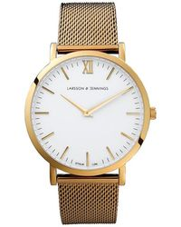 Larsson & Jennings - Cm Gold-plated Watch - Lyst