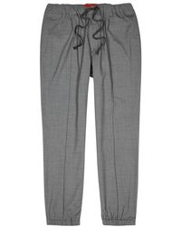 Barena | Grey Cotton Jogging Trousers | Lyst