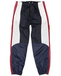 Givenchy - Navy Panelled Cotton Joggers - Lyst