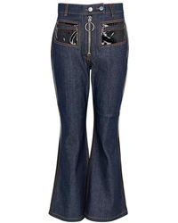 Ellery - Pedestrian Indigo Kick-flared Jeans - Lyst