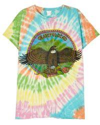 MadeWorn - Tie Dye Grateful Dead T-shirt - Lyst