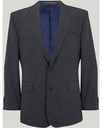 Harvie & Hudson - Grey Herringbone Suit - Lyst
