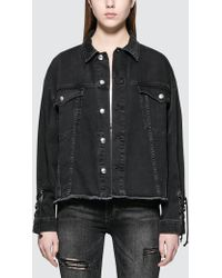 McQ Alexander McQueen | Oversized Laced Jacket | Lyst