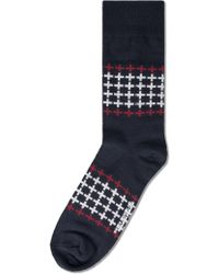 Richer Poorer - Navy Trespasser Socks - Lyst