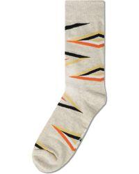 Richer Poorer - Oatmeal Architect Socks - Lyst