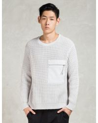 Blood Brother - Grey Capture Knit - Lyst