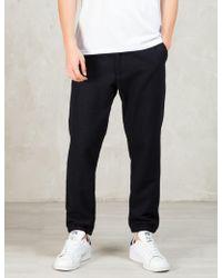 Still Good - Navy Wool Jogger Pants - Lyst