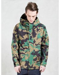 X-Large - 2 Layer Camo Jacket - Lyst