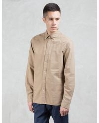 Denham - Rhys Oxford L/s Shirt - Lyst