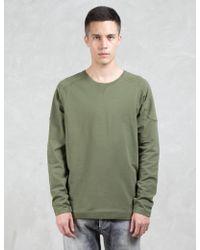Denham - Carver Gusset Sweatshirt - Lyst