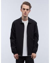 Steven Alan - Stretch Nylon Coach's Jacket - Lyst