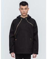Black Scale - Asymmetrical Technical Jacket - Lyst
