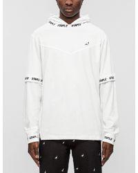 Staple - Tech Hooded L/s T-shirt - Lyst