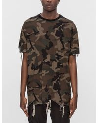 Black Scale | Destroyed S/s T-shirt | Lyst