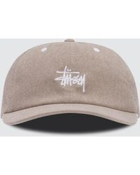Stussy - Washed Stock Low Pro Cap - Lyst