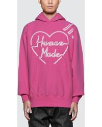 Human Made - Pizza Hoodie - Lyst