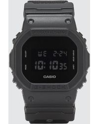 G-Shock - Dw5600bbn With Cordura® Strap - Lyst