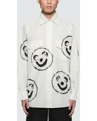 Liam Hodges - Blobby Airbrushed Shirt - Lyst