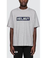 Helmut Lang - Helmut Logo S/s T-shirt - Lyst