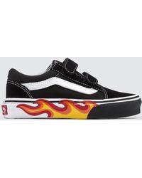 6a7b2a21edc4b7 Lyst - Vans Authentic Kids Trainers in Black for Men