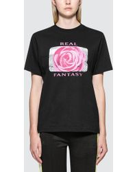 Wasted Paris - Real Fantasy S/s T-shirt - Lyst