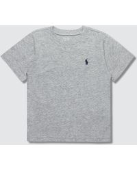 a905f677a Lyst - Polo Ralph Lauren Custom Slim Fit Cotton T-shirt in White for Men