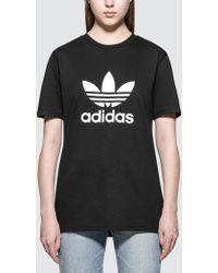 Adidas Originals   Trefoil T-shirt   Lyst