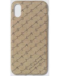 Stella McCartney Monogram Print Iphone Xs Case - Natural